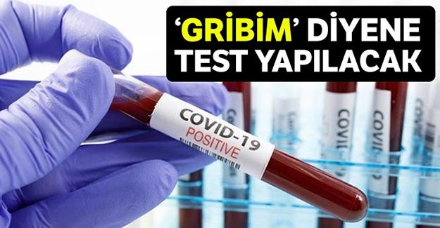 Üşüttüm diyene koronavirüs testi