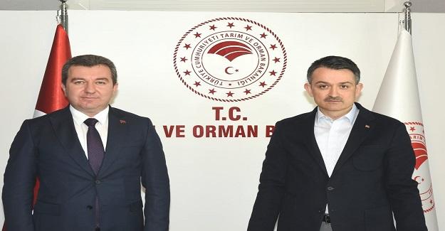 Başkan Koştu, Bergama projeleri için Ankara'da