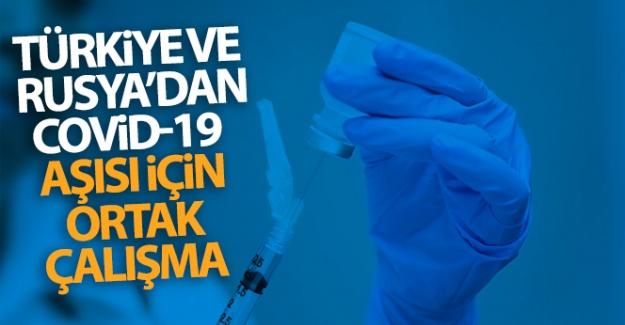 Türkiye ve Rusya Covid-19 aşısı için ortak çalışmalara başlıyor