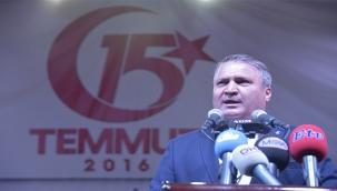 Başkan Çerçi'den 15 Temmuz Mesajı