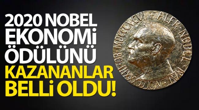 2020 yılı Nobel Ekonomi Ödülünü kim kazandı!