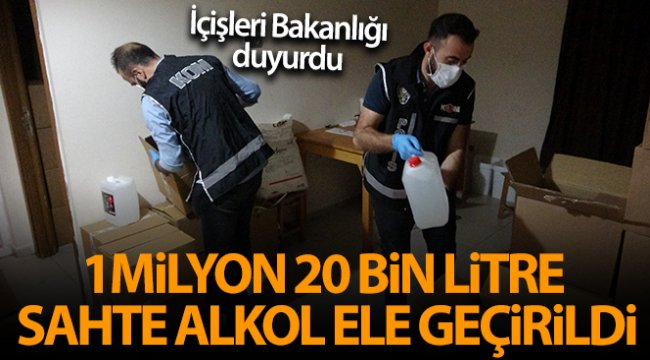 İçişleri Bakanlığı'ndan sahte alkol ölümlerine yönelik açıklamalar