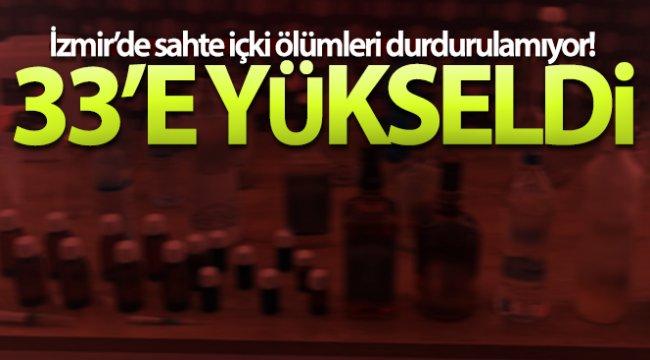 İzmir'de sahte içkiden bir ölüm daha