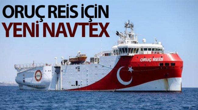 Oruç Reis için yeni Navtex