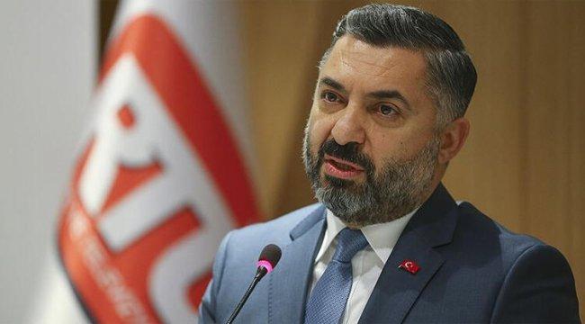 RTÜK Başkanı Şahin'den dikkat çeken açıklamalar