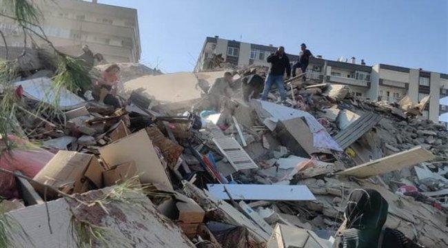 Bakanlık açıkladı! İzmir'deki 124 bina ağır hasarlı