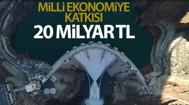 Milli ekonomiye katkısı 20 milyar TL