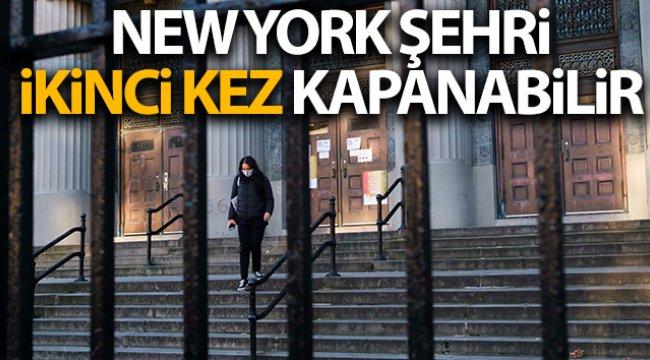 New York ikinci kez tamamen kapatılabilir