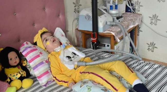 SMA hastası 17 aylık Yaren Belli, tedavi için destek bekliyor