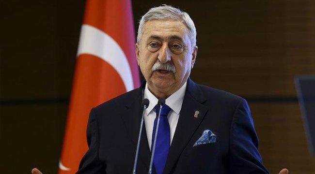 Cumhurbaşkanı Erdoğan, TESK Genel Başkanı Bendevi Palandöken'i kabul etti