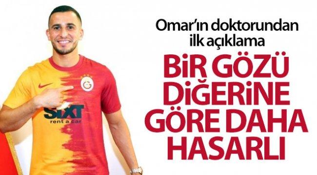 Galatasaraylı Omar Elabdellaoui'nin doktoru son durumu açıkladı