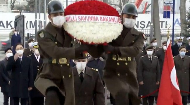 Türk askerinin Kore'deki zaferi için anma töreni düzenlendi