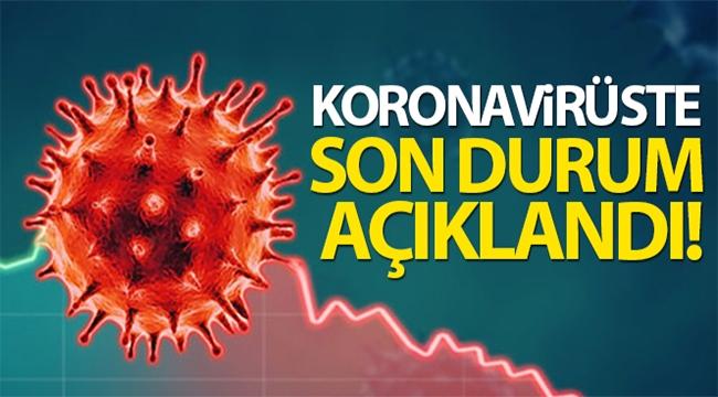 Koronavirüs'te son durum