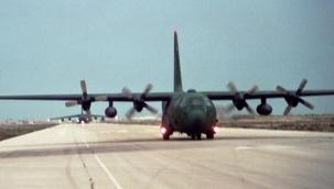 ABD'de askeri uçak düştü