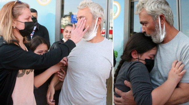 Kurtarılan gemici ailesine kavuştu! Gözyaşları sel oldu...