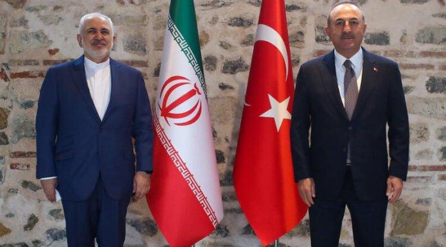 Dışişleri Bakanı Çavuşoğlu, İranlı mevkidaşı Zarif'le bir araya geldi