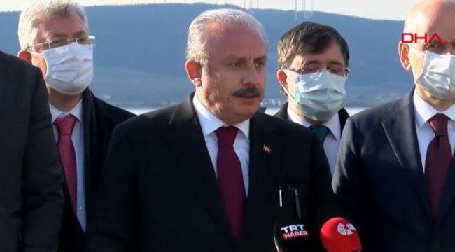 TBMM Başkanı Şentop'tan flaş HDP açıklaması