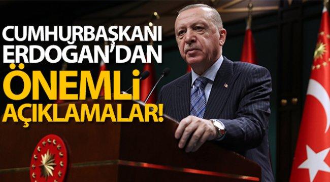 Cumhurbaşkanı Erdoğan'dan yeni anayasa mesajı!
