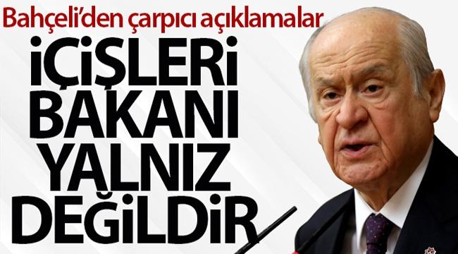 MHP Genel Başkanı Bahçeli'den çarpıcı açıklamalar