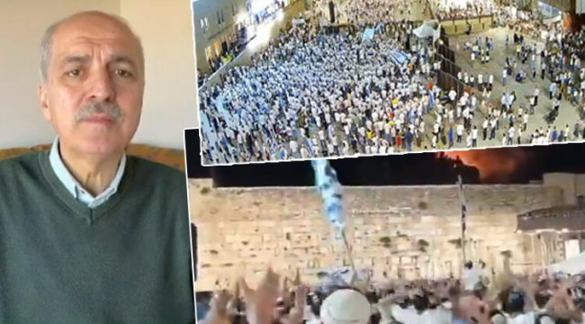 Numan Kurtulmuş'tan İsrail vahşetine çok sert tepki