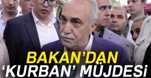 Bakan'dan 'Kurban' müjdesi