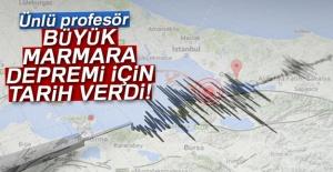 Büyük Marmara depremi...
