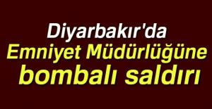 Diyarbakır'da Emniyet Müdürlüğüne...