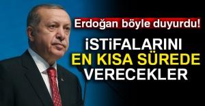 Cumhurbaşkanı Erdoğan#039;dan başkanlara...