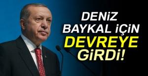 Cumhurbaşkanı Erdoğan, Deniz Baykal için...