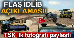 Flaş İdlib açıklaması!
