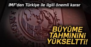 IMF, Türkiye'nin büyüme tahminini yükseltti!