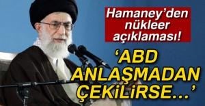 Hamaney'den nükleer açıklaması!...