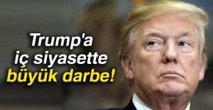 ABD Başkanı Donald Trump'a iç siyasette büyük darbe