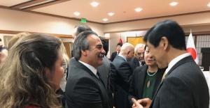 Rektör Bağlı, Japonya Büyük elçiliği ödül törenine katıldı