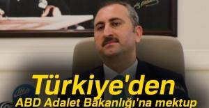 Türkiye'den ABD Adalet Bakanlığı'na...