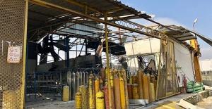 Başkentte fabrikada korkutan patlama