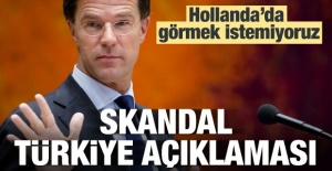 Hollanda'dan skandal...