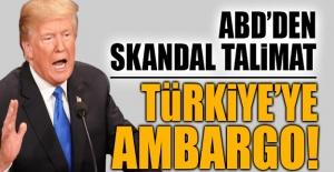 ABD harekete geçti! Türkiye için...