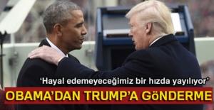 Obama'dan Trump'a gönderme