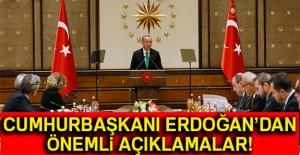 Cumhurbaşkanı Erdoğan'dan önemli...