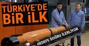 Türkiye'de bir ilk! Hedefe doğru ilerliyor