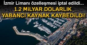 İzmir Limanı özelleşmesi...