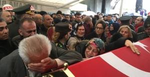 Şehit yüzbaşıya İzmir'de hüzünlü veda