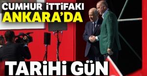 Cumhurbaşkanı Erdoğan ve Bahçeli'den...