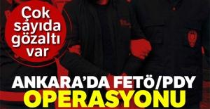 Ankara'da FETÖ/PDY Operasyonu