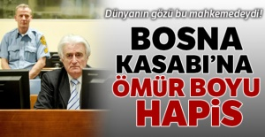 Bosna Kasabı'na ömür boyu hapis