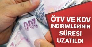 ÖTV ve KDV indirimlerinin...