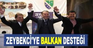 Zeybekci'ye Balkan Desteği