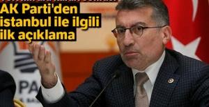 AK Parti'den İstanbul ile ilgili ilk açıklama