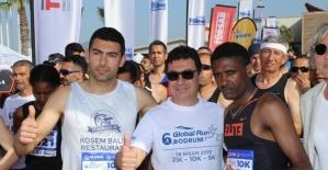 Başkan Aras, Gglobal Run'da koştu